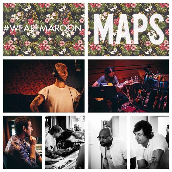Maroon 5-Maps-lifeunderaluckystar